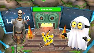 Temple Run 2 Spirits Cove Sir Montague vs Despicable Me 2 Minion Rush Ghost Minion