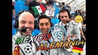 Como vivieron el Dr. García y Martinoli el triunfo de México sobre Alemania