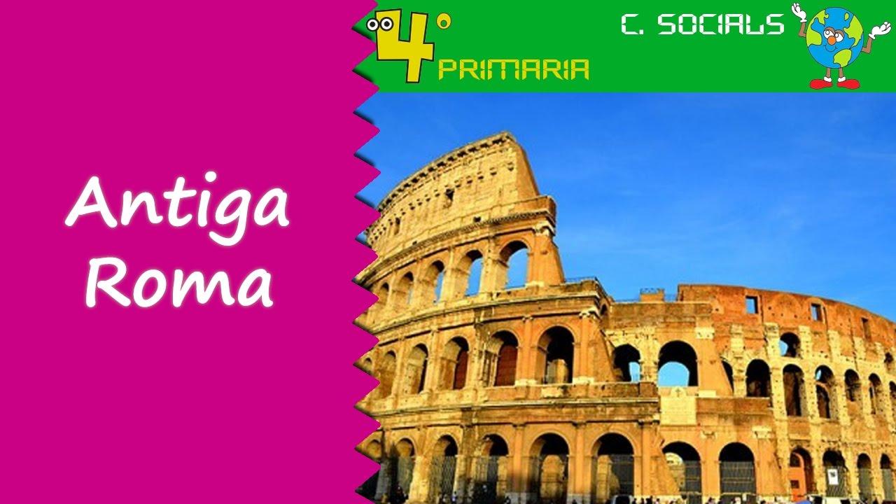 Ciències Socials. 4t Primària. Tema 8. La civilització romana