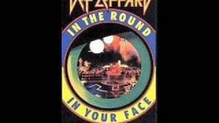 Def Leppard Tear It Down In The Round In Your Face 1988