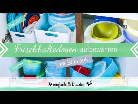 Tupperware Aufbewahrung im Schrank | einfach & organisiert