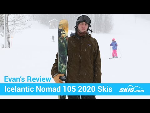 Video: Icelantic-Nomad-105-Skis-2020-6-50