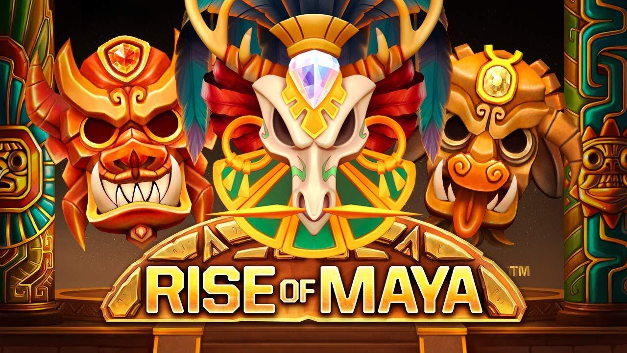 Rise Of Maya från NetEnt