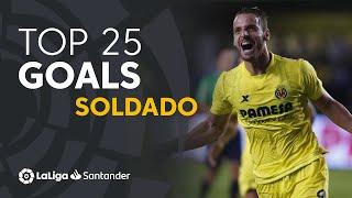 TOP 25 GOALS Roberto Soldado en LaLiga Santander
