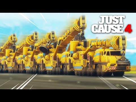 Just Cause 4 - BIGGEST LAND VEHICLE EVER!