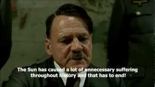 Hitler plans to blow up the Sun