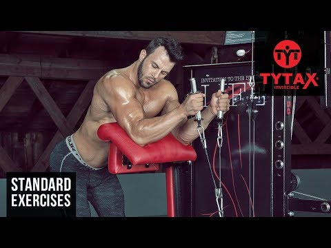 Standing Cable Preacher Hammer Curl | TYTAX® S6