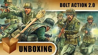 Bolt Action 2 Unboxing: Band Of Brothers Starter Set