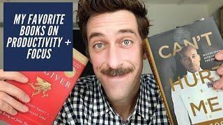 My Favorite Books on Productivity + Focus!!!