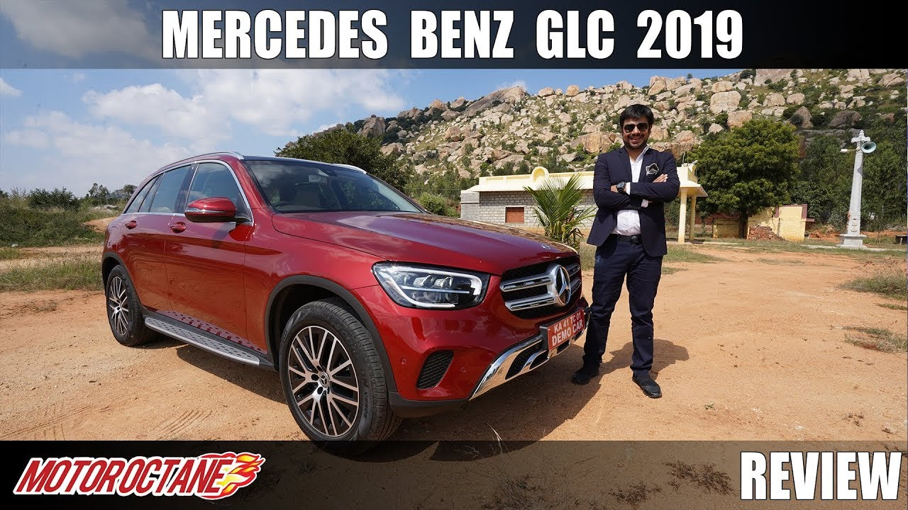 Motoroctane Youtube Video - Mercedes Benz GLC 2019 Review - Connected Cars Tech | Hindi | MotorOctane