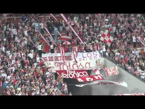 """""""Estudiantes vs Guarani - Copa Libertadores 2011 - Es la banda del pincha"""" Barra: Los Leales • Club: Estudiantes de La Plata"""