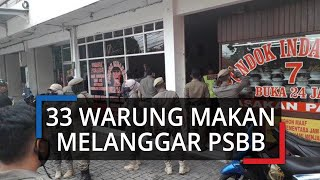 Melanggar PSBB, Pemkab Bogor Panggil 33 Pengusaha Rumah Makan di Jalur Puncak Bogor