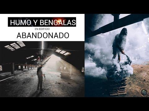 Bombas de HUMO en lugar ABANDONADO / Urbex