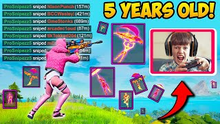 *FIVE YEAR OLD* Fortnite Expert!! - Fortnite Funny Fails and WTF Moments! 1191