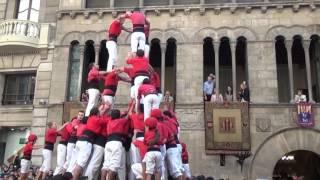 Castellers de Lleida torre humana 9 de 3