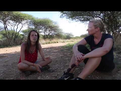Namibia Wildlife Sanctuary Volunteers Video