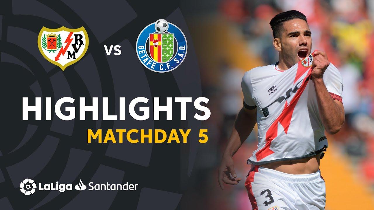 Resumen de Rayo Vallecano vs Getafe CF (3-0)