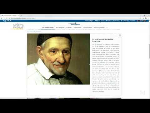 Le site web de la Communauté Saint-Martin
