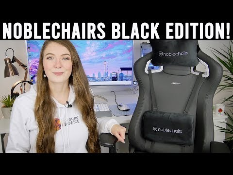 Noblechairs Epic Black Edition Review - the best gets better !