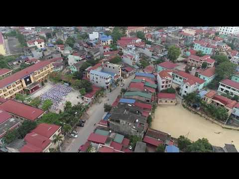 Toàn cảnh trường THCS Chu Văn An.