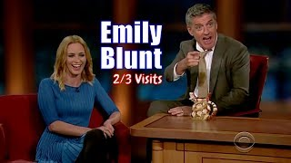 Emily Blunt - Everytime She Laughs, I Fall Deeper In Love - 2/3 Appearances In Chron. Order[HD]