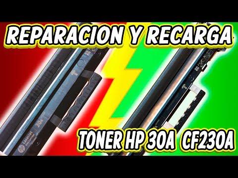 REPARACIÓN PARA CARGA INCORRECTA EN RODILLO DE TONER HP 30A CF 230A