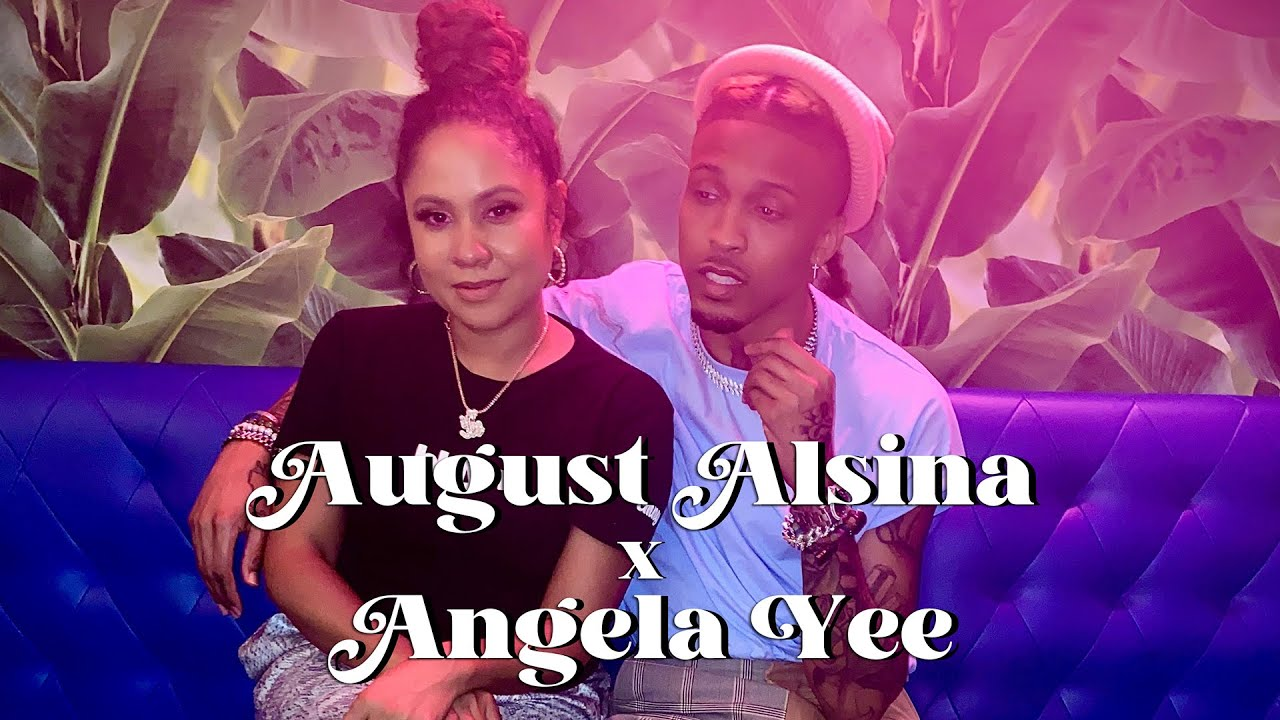 Angela Yee Interviews August Alsina