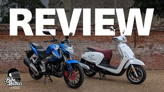 Kymco VSR 125 & Like 125 Review - First Impressions Road Test