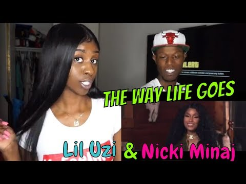 Lil Uzi Vert - The Way Life Goes Remix (Feat. Nicki Minaj) [Official Music Video] REACTION!