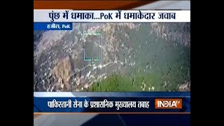 Indian army destroys Pakistan army administrative HQ s along Loc