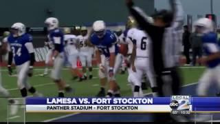 Fort Stockton Picks Up District Win Over Lamesa