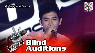 The Voice Teens Philippines Blind Audition: Mikko Estrada - Dahil Sa'Yo