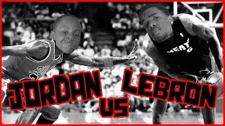 WHO'S BETTER? LEBRON OR JORDAN?! - NBA 2K16 Head to Head Blacktop Gameplay Game 5