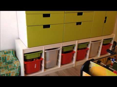 CAMERETTA: Ikea e fantasia per ottenere una camera ludica-sportiva-didattica