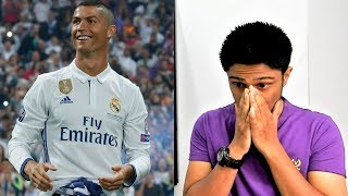 THANK YOU, CRISTIANO RONALDO | Real Madrid Official Video REACTION