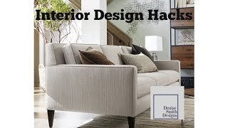 Interior Design Hacks
