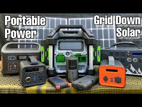 10 Best Portable Lithium-Ion Power Stations!