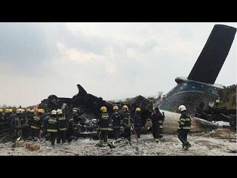 Συντριβή αεροπλάνου κοντά στο αεροδρόμιο του Κατμαντού