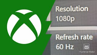 How to choose your refresh rate on Xbox One S or X (60-120hz)