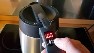 How To Aicok Wasserkocher Edelstahl mit Cool Touch Oberfläche