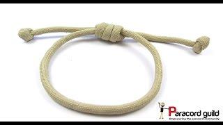 Hangmans Noose Paracord Bracelet/hair Strap