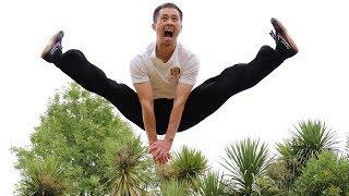 Shaolin Kung Fu Wushu Tutorial for Beginners | Jump & Kick Training