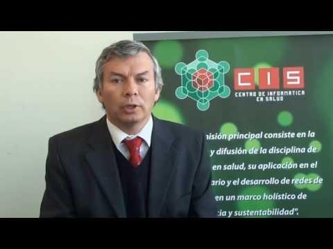 Centro de Informática en Salud CIS de la Universidad Central de Chile. SALUDO DECANO RICARDO FÁBREGA