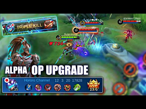 NEW ALPHA REVAMPED GAMEPLAY | MOBILE LEGENDS