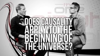 Does Causality Apply to the Beginning of the Universe