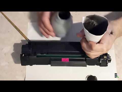 Быстрая заправка картриджа CB435A для  принтера HP LaserJet P1005