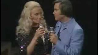 George Jones and  Tammy Wynette- Golden ring