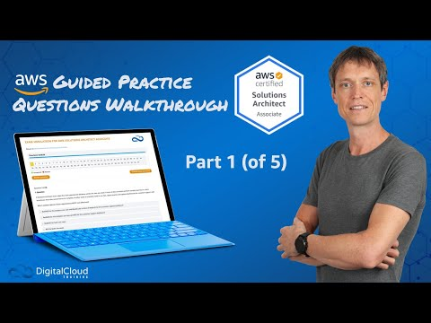 Practice Questions Walkthrough for the SAA-C02 - AWS ... - YouTube
