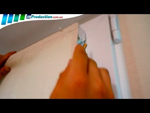 Установка Римских штор на пластиковые окна своими руками от JB Production