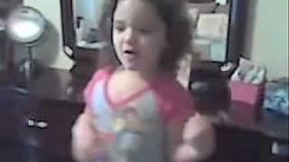 "Little girl sings ZO2's ""Painted Lady"""